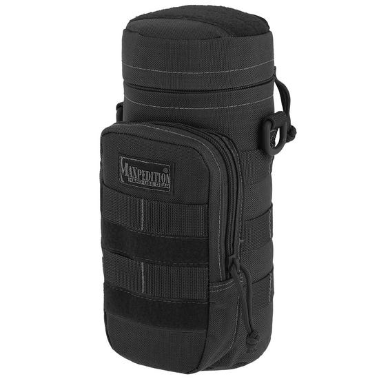 "Maxpedition 10"" x 4"" Bottle Holder Black"