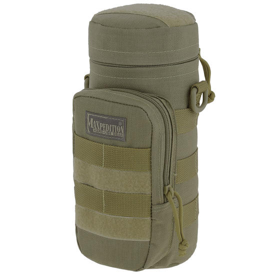 "Maxpedition 10"" x 4"" Bottle Holder Khaki"