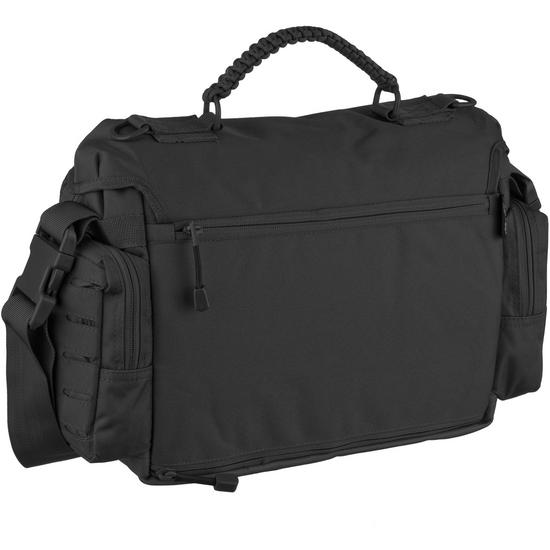 Mil tec tactical paracord bag large black shoulder bags for How to make a paracord utility pouch