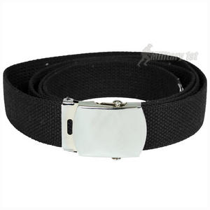Mil-Tec Webbing Belt Black