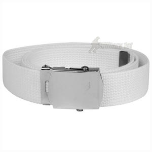Mil-Tec Webbing Belt White