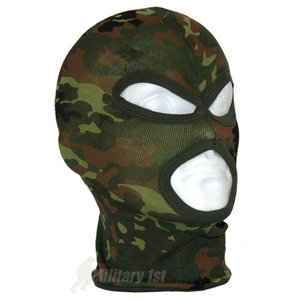 Lightweight Cotton 3 Hole Balaclava Flecktarn