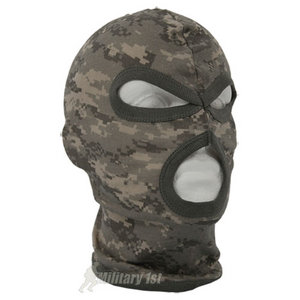 Lightweight Cotton 3 Hole Balaclava ACU Digital