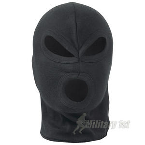 Mil-Com 3 Hole Balaclava Lightweight Black