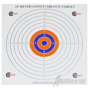 SMK Colour Centre 14cm Paper Targets (300 Pack)