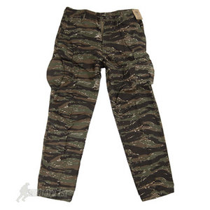 MFH BDU Vietnam Ripstop Combat Trousers Tiger Stripe