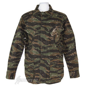 MFH BDU Vietnam Ripstop Combat Shirt Tiger Stripe
