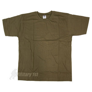 Highlander T-shirt Olive Green