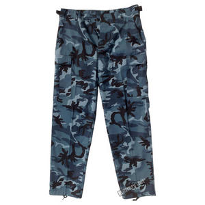 BDU Ranger Combat Trousers Skyblue