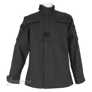 Teesar ACU Combat Shirt Black