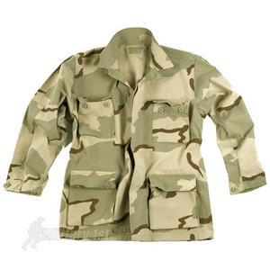 Teesar BDU Combat Shirt 3-Colour Desert