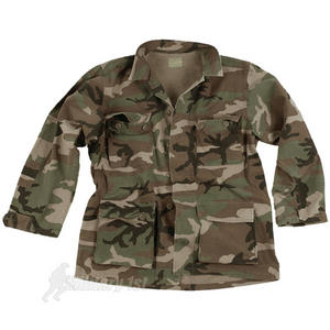 Teesar BDU Combat Shirt Woodland
