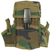 Mil-Tec US Magazine Pouch LC2 (M16) Woodland