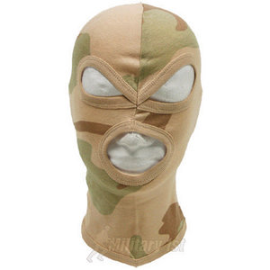 Lightweight Cotton 3 Hole Balaclava 3-Desert