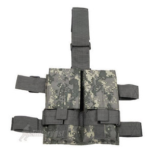 MFH Tactical Leg Pouch Double Magazine ACU Digital