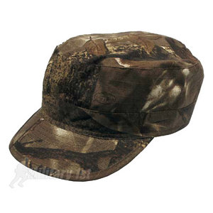 Hunter Ripstop Patrol Cap Real Tree Brown