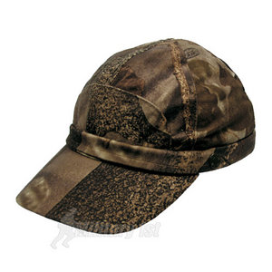 Hunter Cap with Fluorescent Strip Real Tree Brown