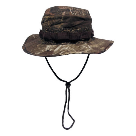 MFH GI Ripstop Bush Hat Real Tree Brown