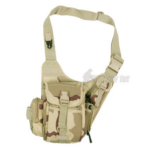 MFH Combat Shoulder Bag 3-Colour Desert