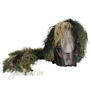 Camouflage Bush Head Cover Woodland