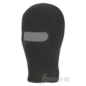 Mil-Com 1 Hole Warm Balaclava Black