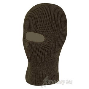 Mil-Com 1 Hole Balaclava Warm Olive