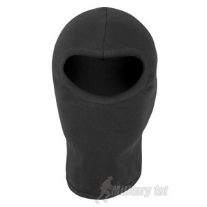 Mil-Com Cotton Open Face Balaclava Black