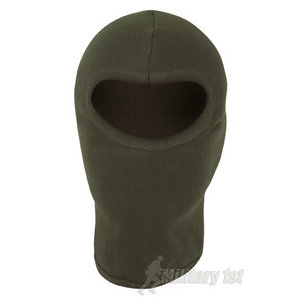 Mil-Com Cotton Open Face Balaclava Olive