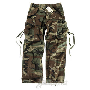 Helikon M65 Combat Trousers Woodland