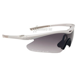 Swiss Eye F-16 Glasses Pearl White Shiny Frame