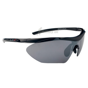Swiss Eye Shark Glasses Black Shiny Frame