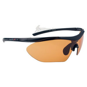 Swiss Eye Shark Glasses Black Matt Frame