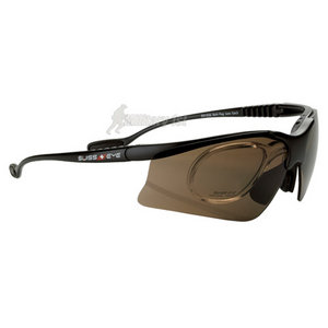 Swiss Eye Stingray V Glasses Black Matt Frame