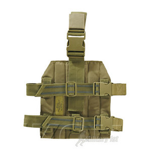 Helikon Drop Leg Panel MOLLE Coyote