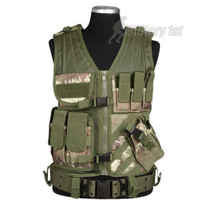 Mil-Tec USMC Tactical Vest Vegetato Woodland