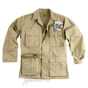 Helikon Genuine BDU Shirt Cotton Ripstop Khaki