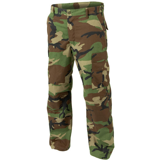Helikon Genuine BDU Trousers Polycotton Ripstop Woodland