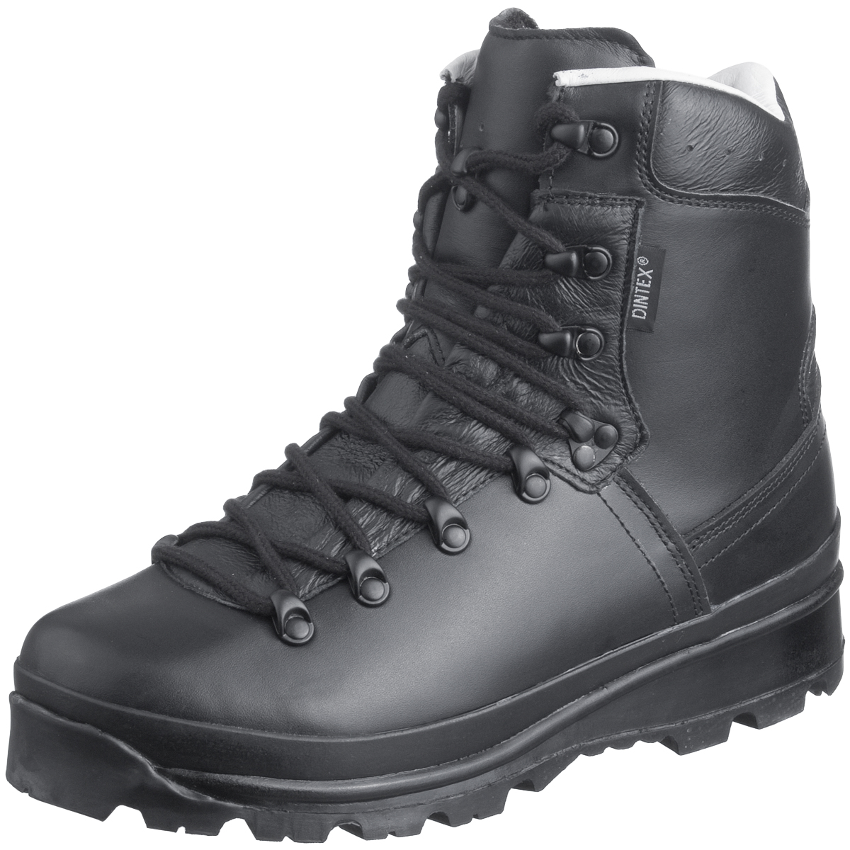 Mil-Tec German Army Mountain Boots Black | Boots ...
