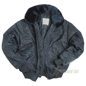 CWU-45P Jacket with Fur Collar Navy