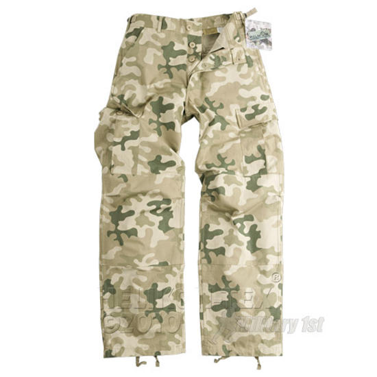 Helikon Genuine BDU Trousers Cotton Ripstop Polish Desert Preview