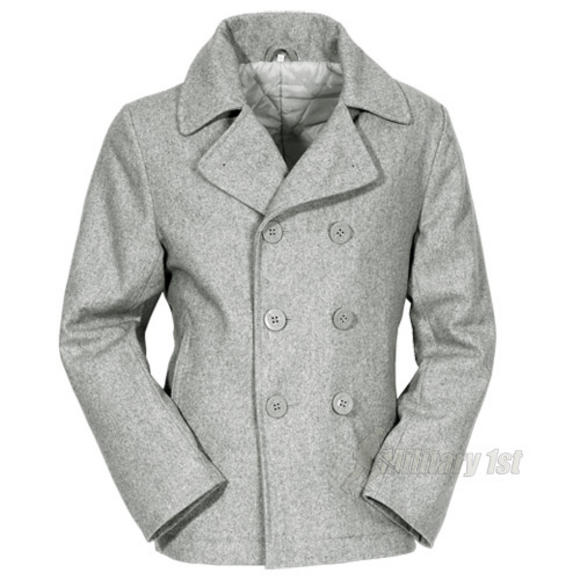 Surplus Pea Coat Grey