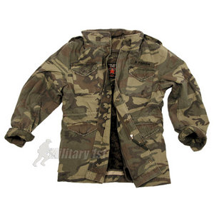 Pure Trash Defense Jacket Woodland