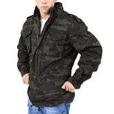 Surplus M65 Regiment Jacket Black Camo Thumbnail 4