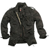 Surplus M65 Regiment Jacket Black Camo Thumbnail 1