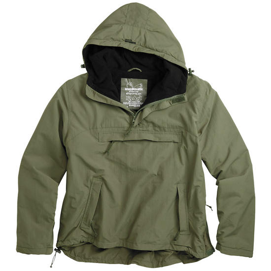 Surplus Windbreaker Jacket Olive Preview