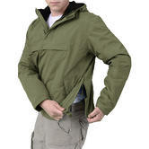 Surplus Windbreaker Jacket Olive Thumbnail 4