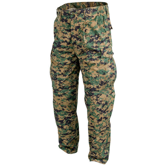 Helikon USMC Trousers Policotton Twill Digital Woodland