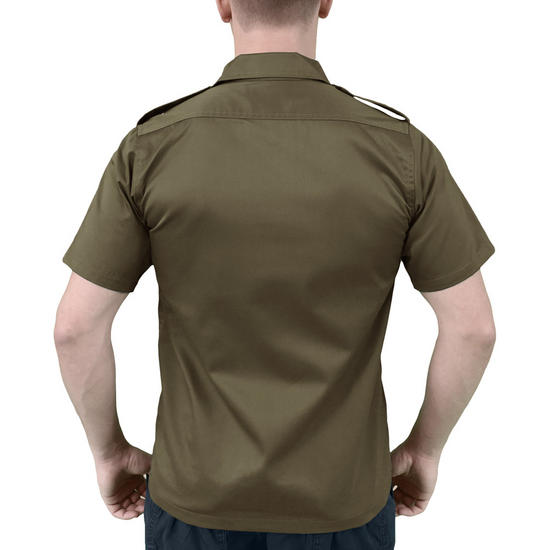 Surplus us shirt short sleeve olive tactical military 1st for 6 dollar shirts coupon code free shipping