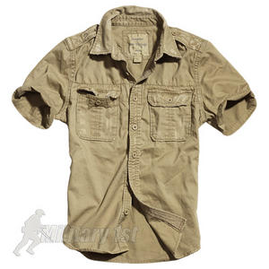 Surplus Raw Vintage Short Sleeve Shirt Beige