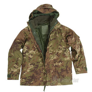 Mil-Tec ECWCS Jacket with Fleece Vegetato Woodland